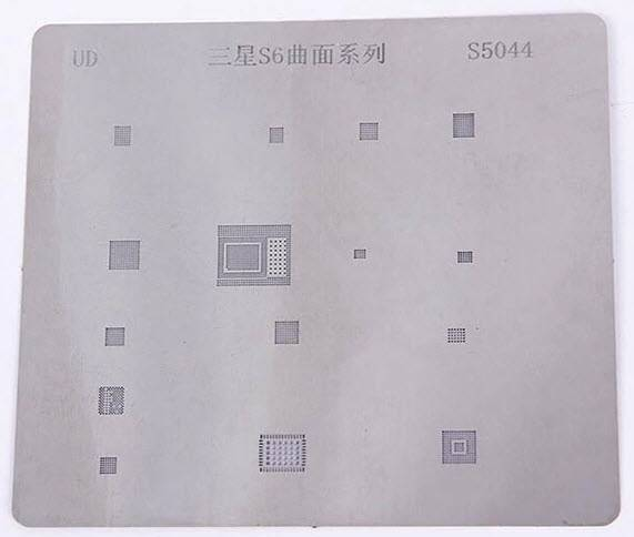 IC Chip S5044 BGA Reballing Stencil Kits Set Solder Template for Samsung S6