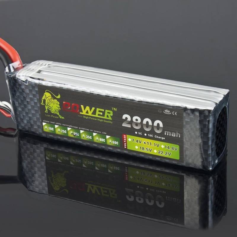 Lion Power 3s Lipo Battery 11.1 V 2800 Mah 35C MAX 50C