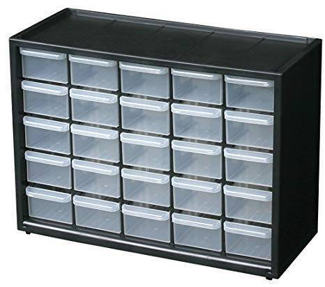 25 Section Cabinet Plastic Drawer Box in Pakistan