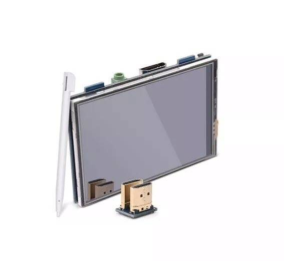 MP13508 3.5 inch HDMI USB Touch Screen Real HD 1920x1080 LCD Display For Raspberry Pi 3/2/B+/B/A+