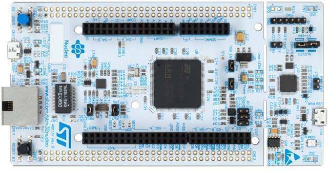 STM32 by ST NUCLEO-F756 STM32 Nucleo-144 Development Board with STM32F756 MCU