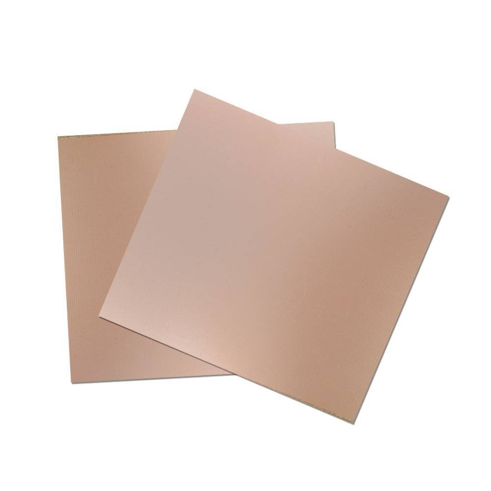 FR4 Fiberglass 12x12 Inch Size Copper Clad Board PCB Board For Prototyping