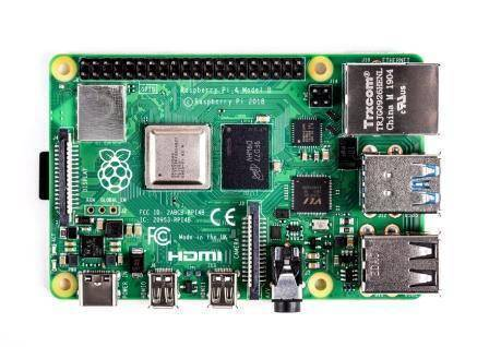 Raspberry Pi 4 Model-B with 2GB RAM