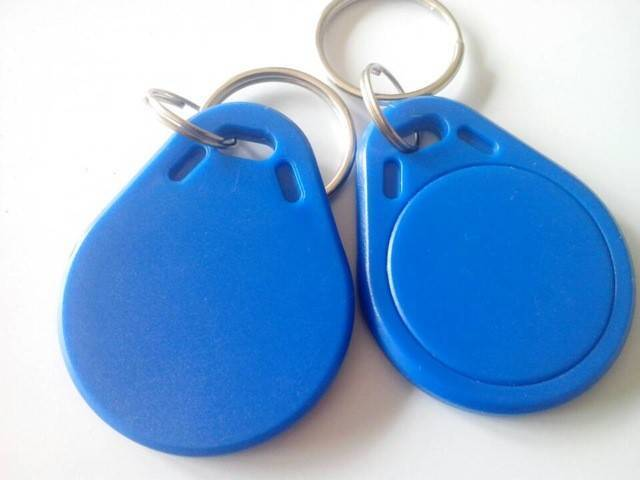 125khz Rfid Tag Key Ring Tag RFID Card In Pakistan