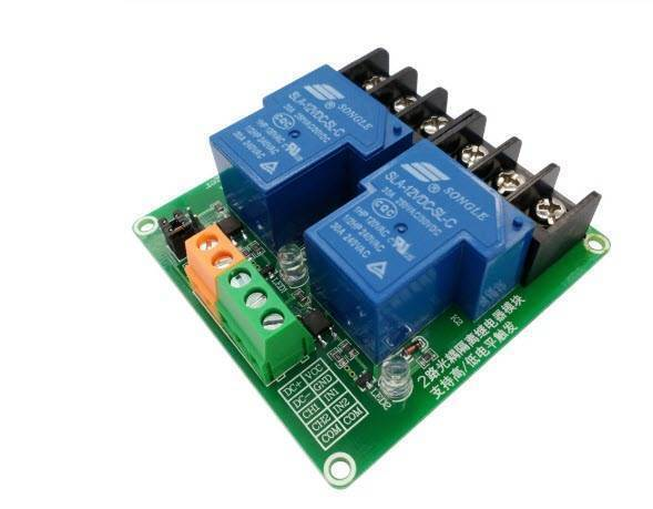 5V 30A 2-channel relay module