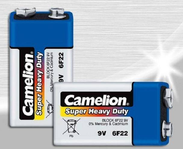 Camelion 9V Battery Super Heavy Duty