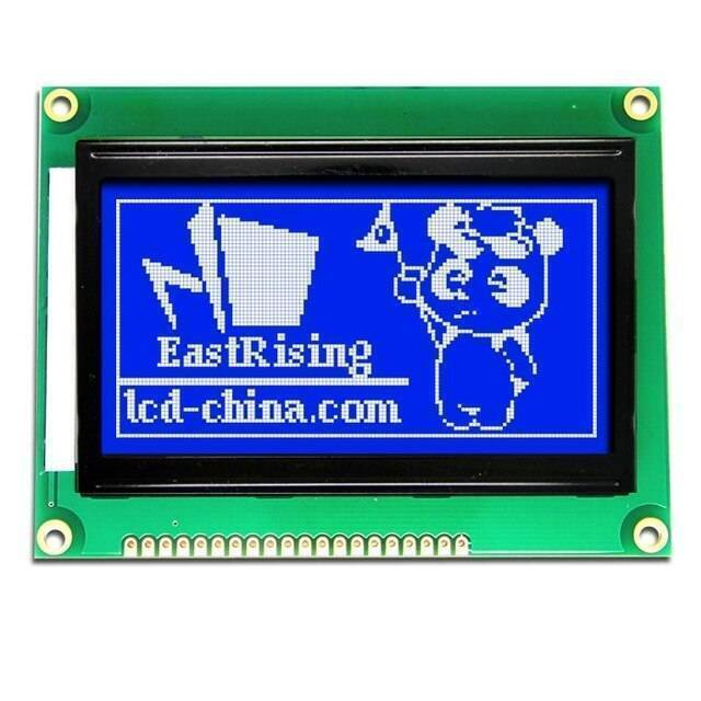 Blue Color 128×64 Graphical LCD