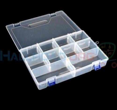F300 Organizer Box Storage Box 10 Section Makeup Organizer Container Box