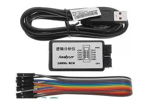 24Mhz 8CH USB Logic Analyzer For Microcontroller & FPGA Debugging