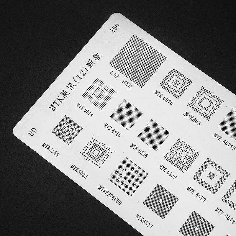 BGA stencil MTK A90 For Mobile IC