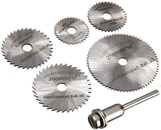 HSS Circular Saw Blade Set For Metal & Dremel Rotary Tools