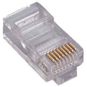 RJ45 Male Connector 8 pin