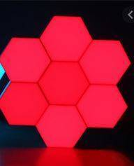Red Touch Light Wall Mount Magnetic Modular (1pc)
