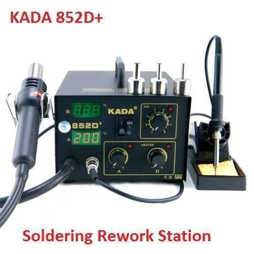 Digital Soldering and SMD Rework Station KADA 825D+