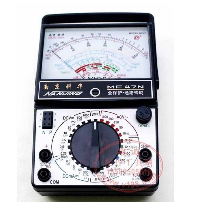 AC DC Analog Multimeter MF47N