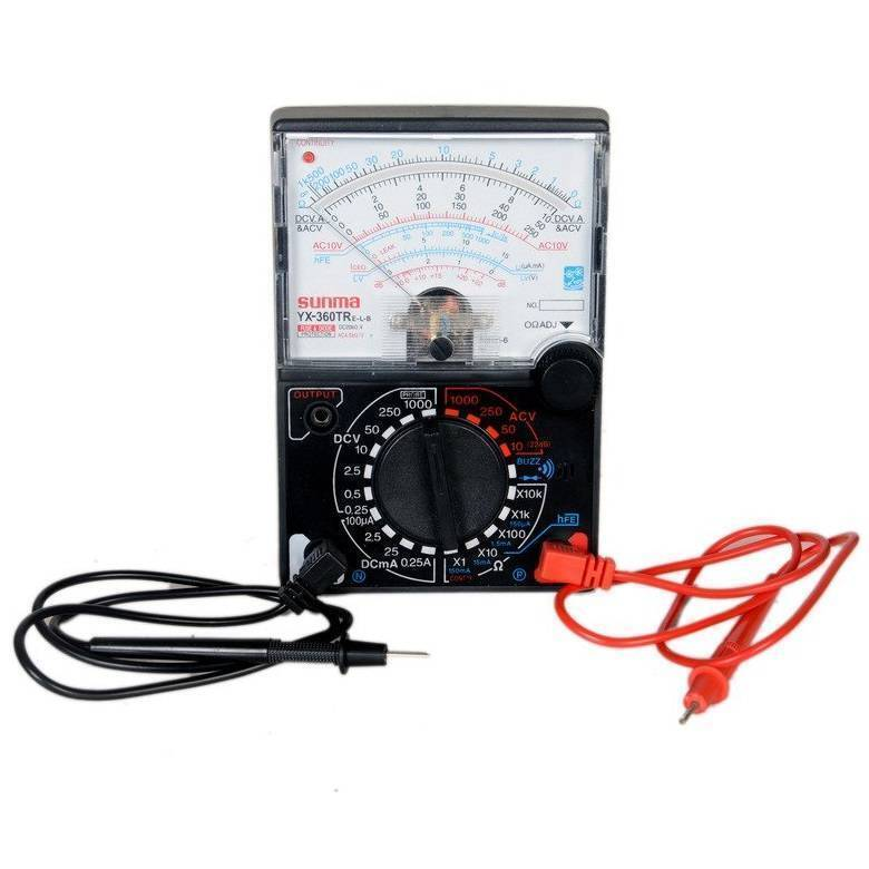Handheld Analog Multimeter YX360TR