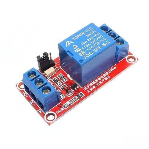 1 Channel 5V Optocoupler Isolated Relay Module