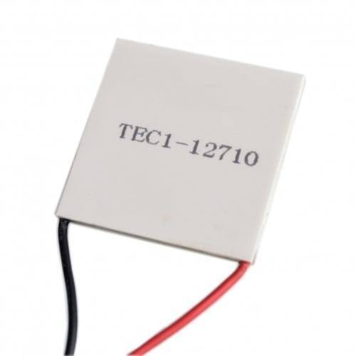 Thermoelectric Cooler Peltier Module TEC1 12710 12VDC 10A  40x40x3.2mm