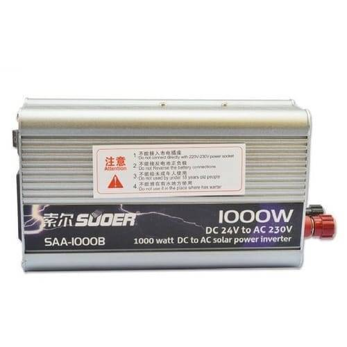 24V To 220V Inverter 1000W Pure Sine Wave Power Inverter