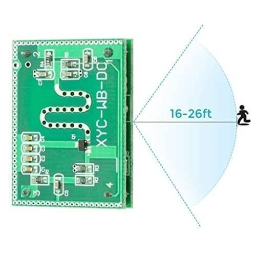 5.8GHZ Microwave Radar Motion Sensor Module