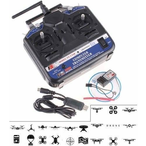 FlySky 2.4G 6 Channel Remote Control FS-CT6B
