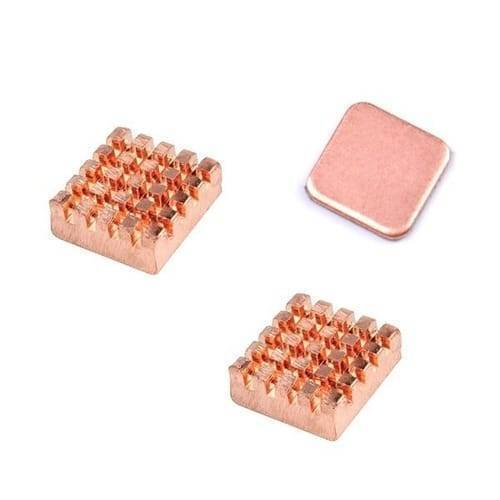 Self Adhesive Pure Copper Heat Sink For Raspberry Pi