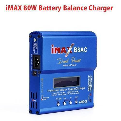 iMAX 80W NiMH 3S RC Lipo Battery Balance Charger Discharger B6AC