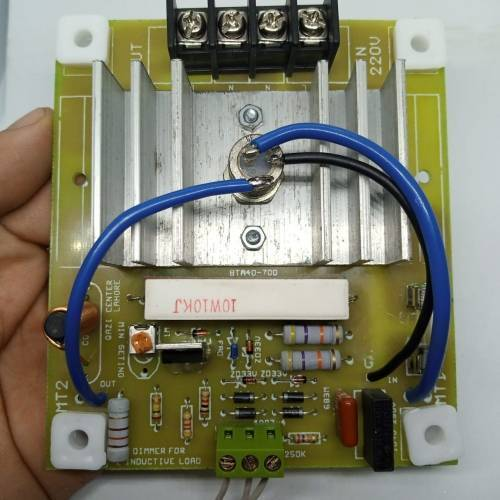 0 To 5000W Adjustable AC Dimmer  AC Heater Controller