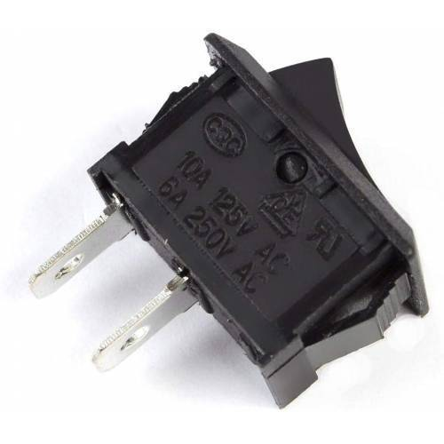 SPST Rocker Switch Mini Boat Switch 10A 125V 6A 250V  Press Button Rocker Switch