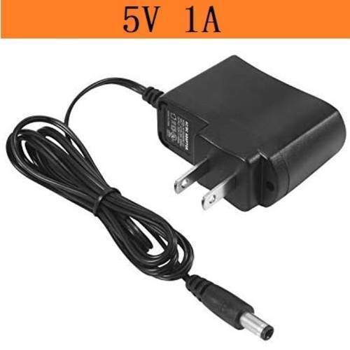 5V 1A DC Power Supply Adapter Charger