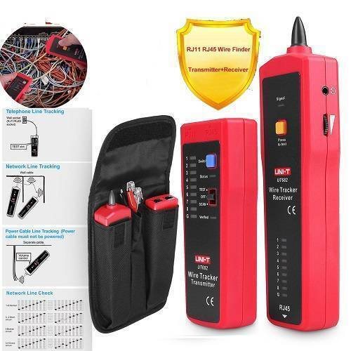 UNI T Wire Tracker Cable Tester UT682