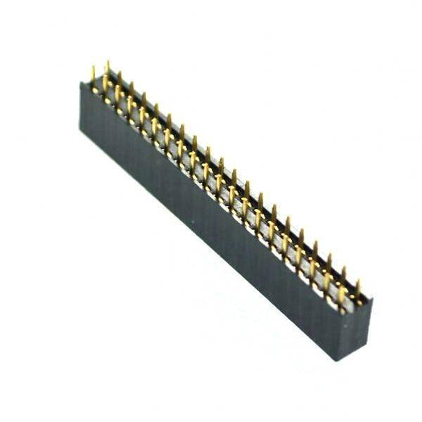 0.1″ 40-pin break away dual row female male header