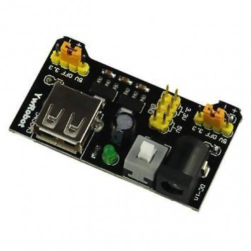 MB102 Breadboard Power Supply Module 3.3V/5V For arduino Solderless Bread Board