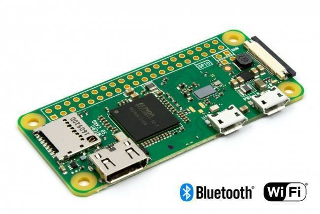 Raspberry Pi Zero W V1.3 Development Board