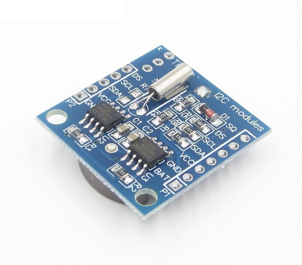 Real Time Clock DS1307 DS 1307 RTC I2C Module AT24C32  Battery