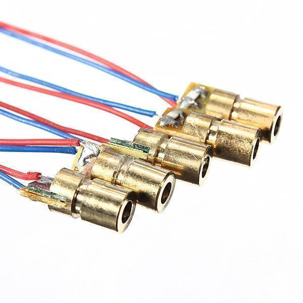 650nm 6mm 3V 5mW Laser Dot Diode Laser Diode