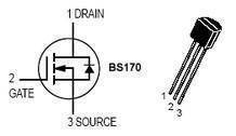 BS170 N Channel E MOSFET In Pakistan