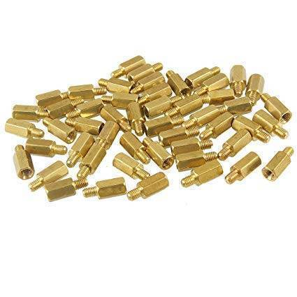 15mm M3 Male To Female PCB Spacer Brass PCB Standoff