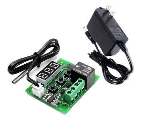 W1209 Temperature Controller Switch With 12V 1A Power Supply in Pakistan