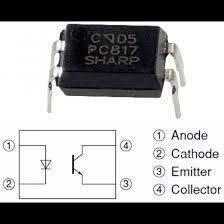 Original Sharp PC817 Optocoupler