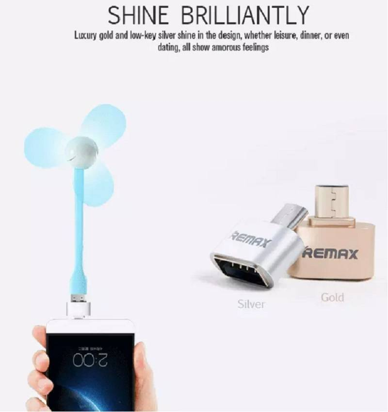 Remax OTG Connector Data Adapter 2.0 USB