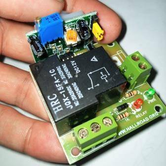 12V PIR Motion Sensor Switch Module