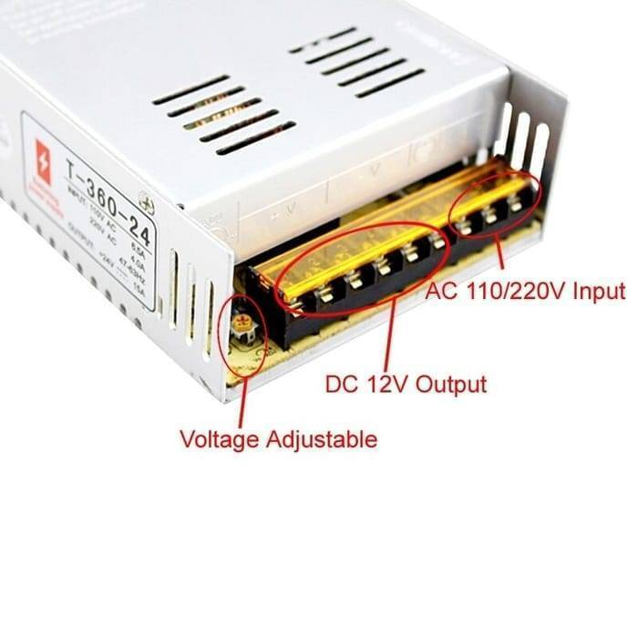 Switching Power Supply SMPS 24V 15A