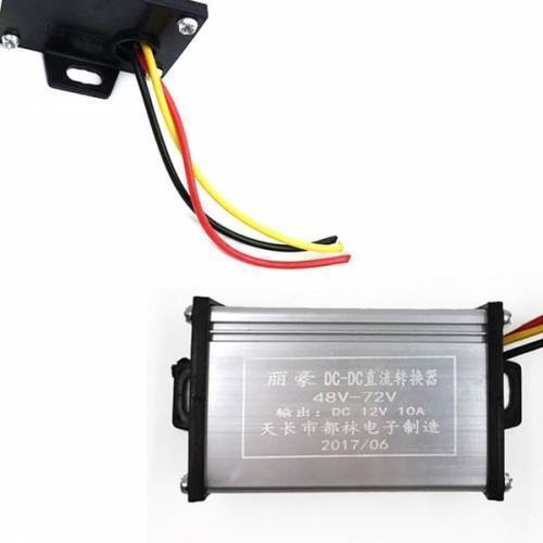 36V 72V To 12V 20A DC Converter Adapter