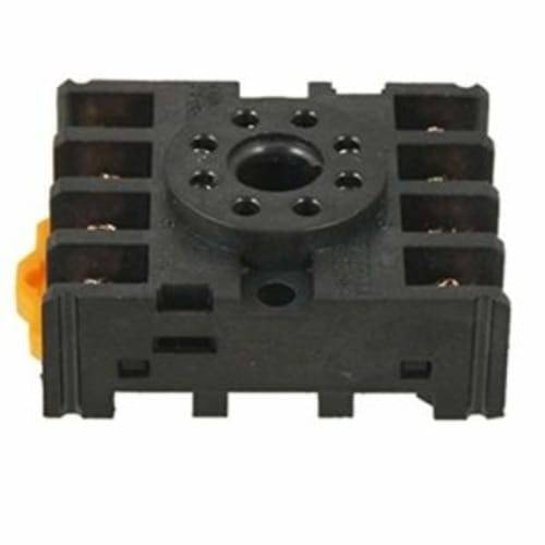 Finder Relay 12VDC 10A 60.12 With 8pin Rail-Mount Relay Socket Relay Base