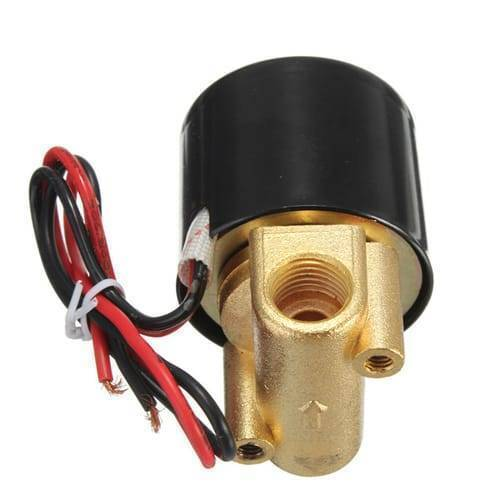 1/4 Inch 12V DC Solenoid Valve For Water Air Gas