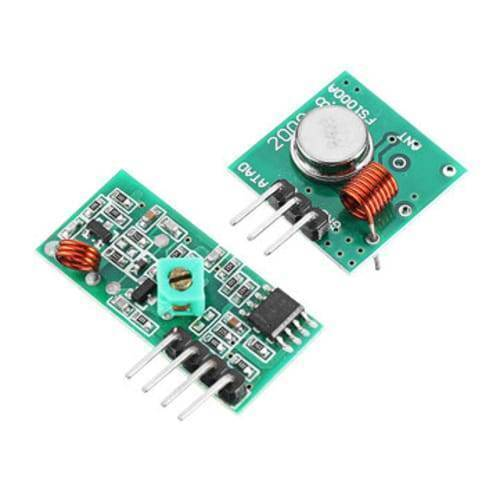 433mHz RF Transmitter Receiver Module Male Pin FS1000A