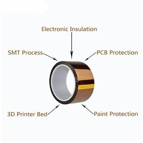 20mm Polyimide Film Heat Resistant Adhesive Tape