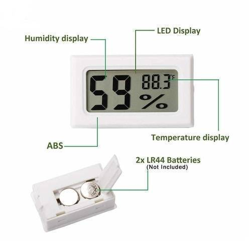 Mini Digital Thermometer Hygrometer Temperature Humidity Meter FY-11 Without wire