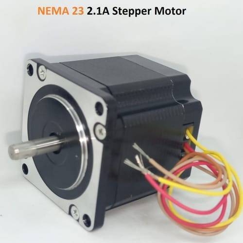 NEMA23 Bipolar 1.8 Degree 2.1A  54mm Stepper Motor 6.35mm Shaft
